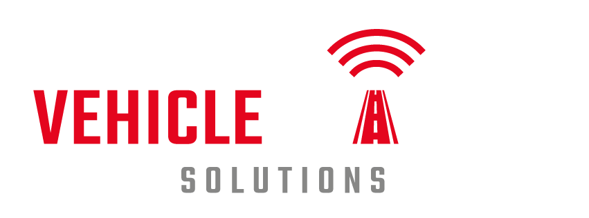 Vehicle Tracking Solutions - Logo - White Text