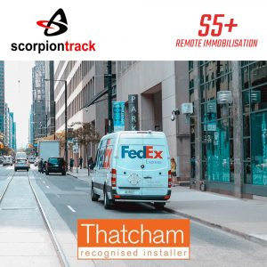 Scorpion Track S5+ Remote Immobilisation Lorry Van Tracker