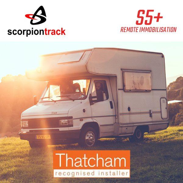 Scorpion Track S5Plus Remote Immobilisation Motorhome Tracker