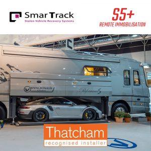 SmarTrack S5+ Remote Immobilisation Motorhome Tracker
