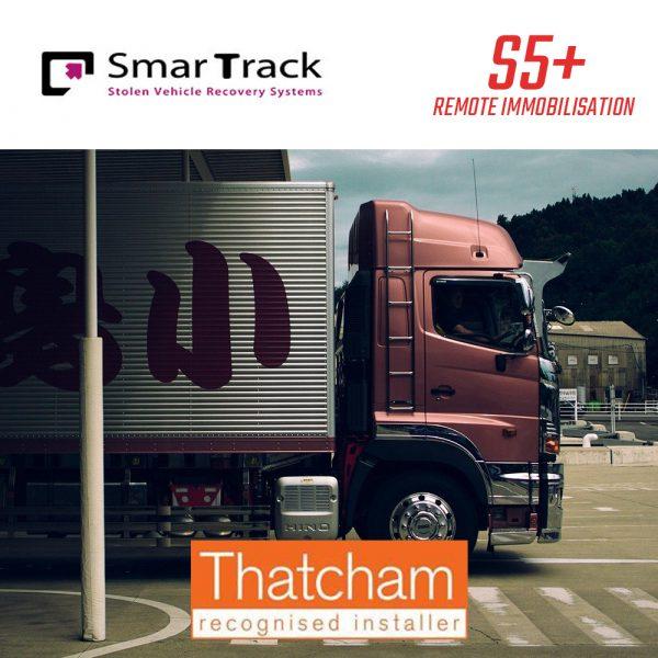 SmarTrack S5Plus Remote Immobilisation Lorry Van Tracker