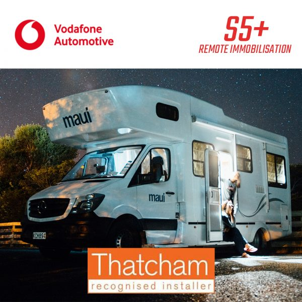 Vodafone S5+ Remote Immobilisation Motorhome