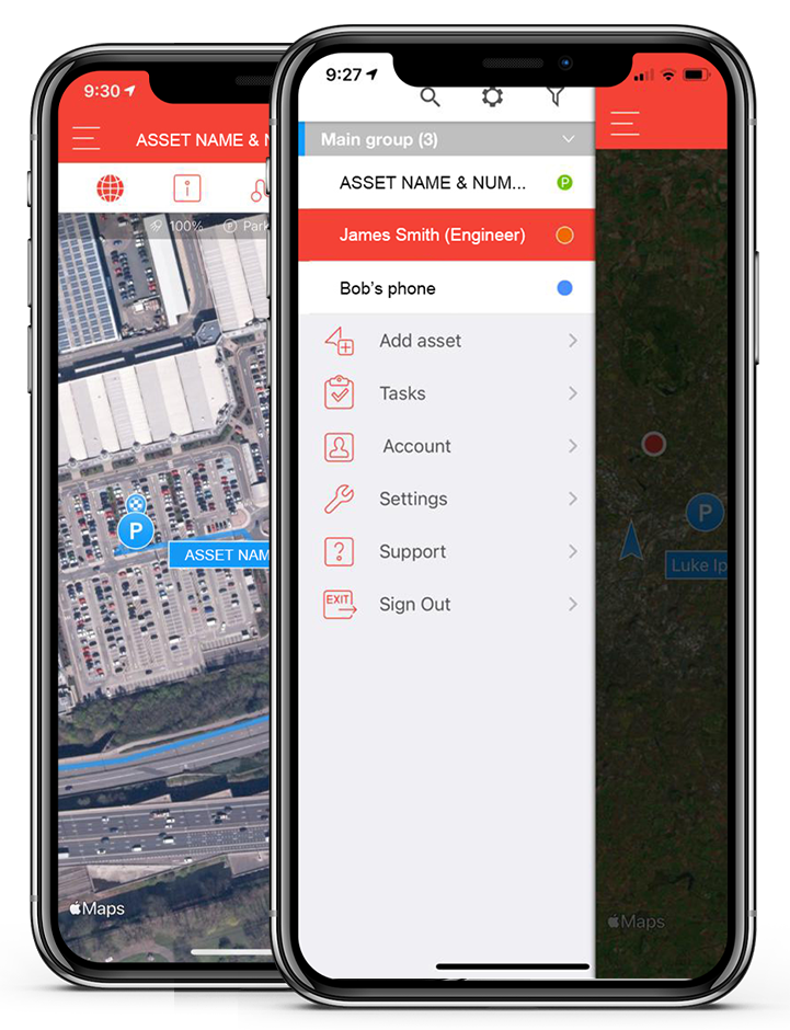 fleet tracking system from smartphone