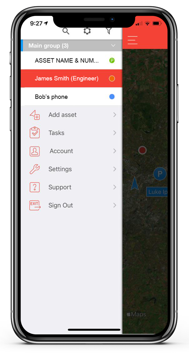commercial fleet tracking from mobile