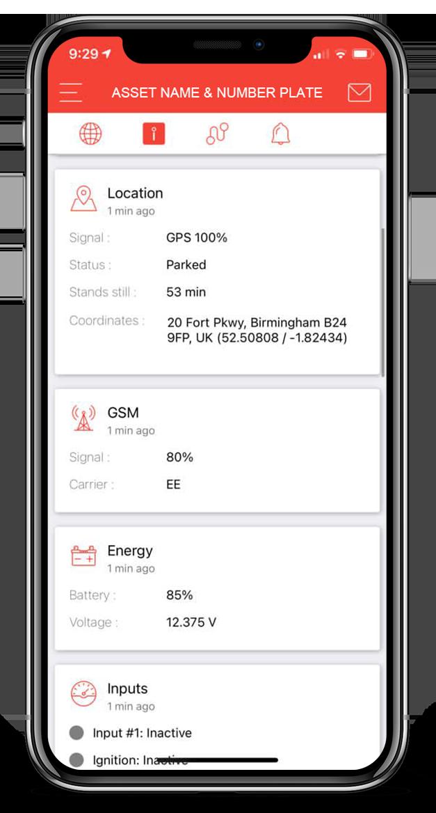 fleet tracking location data smartphone