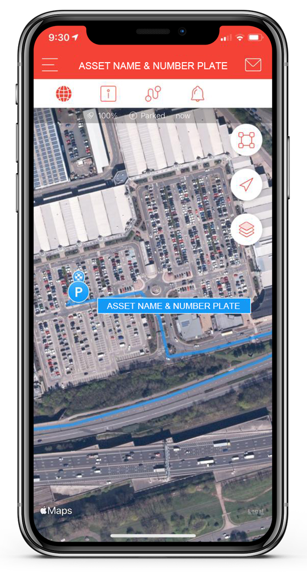 fleet tracking asset name and location